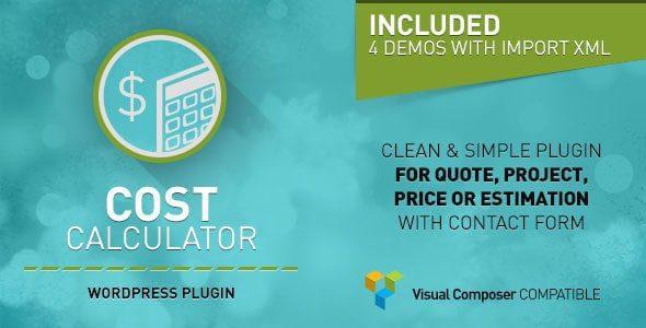 Cost Calculator - Калькулятор стоимости - WP плагин