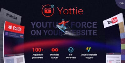 Плагин WordPress Канала YouTube — WordPress YouTube Gallery (Yottie)