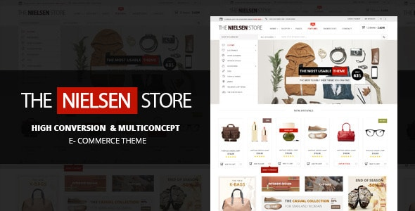 Nielsen – Тема WordPress Электронной коммерции