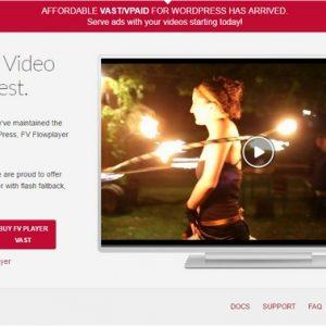 FV Flowplayer Pro - плагин видео плеера