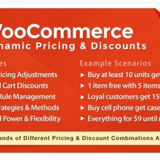 Динамическое Ценообразование И Скидки На Woocommerce - WooCommerce Dynamic Pricing & Discounts