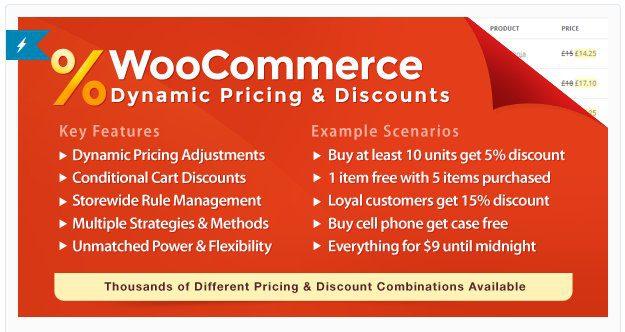 Динамическое Ценообразование И Скидки На Woocommerce – WooCommerce Dynamic Pricing & Discounts