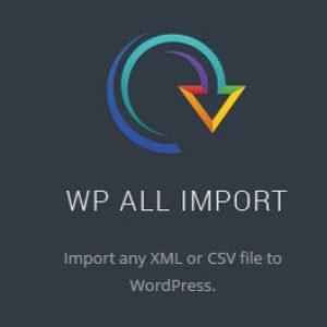 Wordpress All Import Elite + Export Lifetime плагин импорта  + плагин Экспорта
