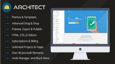 Architect — HTML and Site Builder