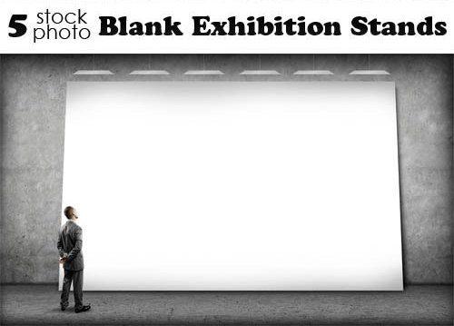 Photos, Blank Exhibition Stands – Набор для дизайна, скачать бесплатно