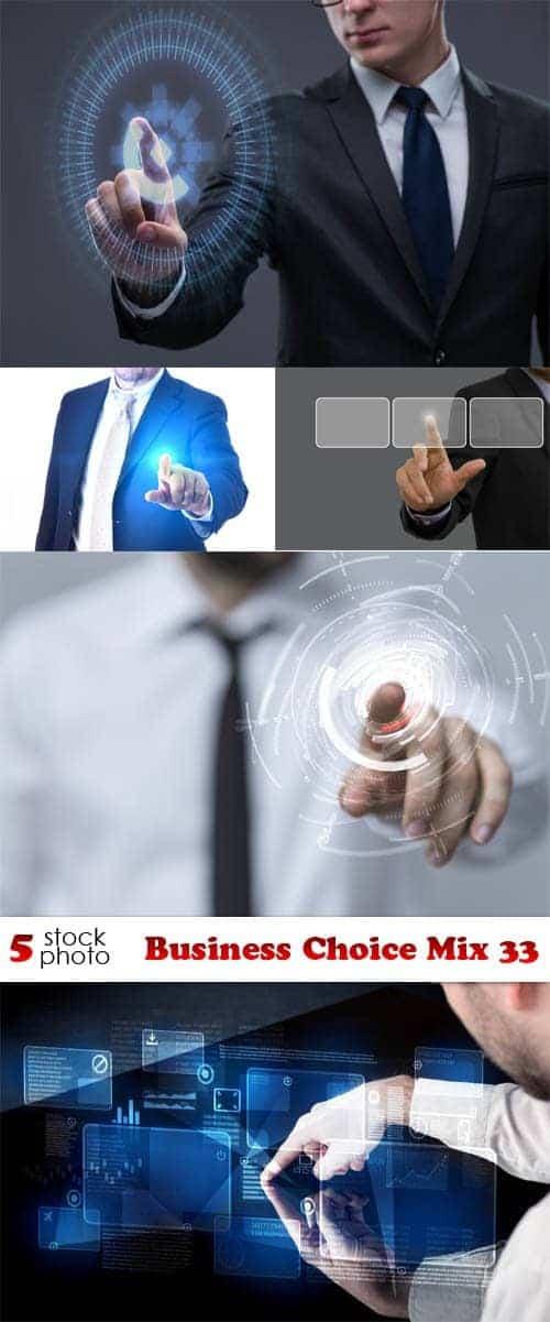 Сток-фото - Бизнес выбор микс