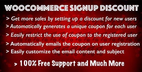 WooCommerce Регистрация со скидкой