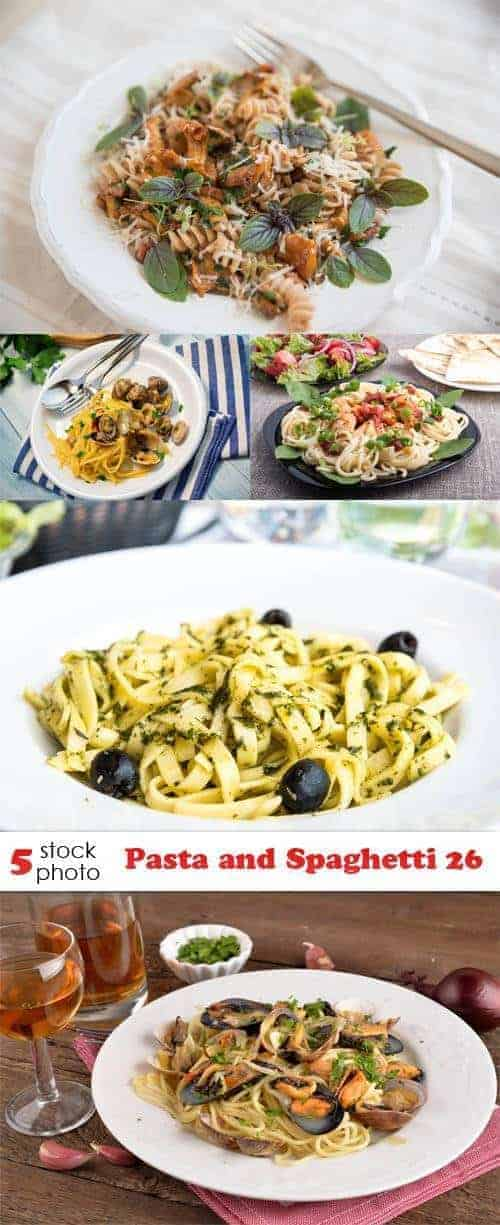 Фотографии — макарон и спагетти 26