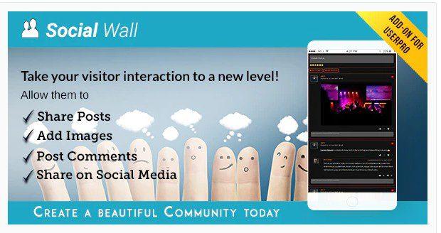 Социальная Стена - Дополнение для UserPro