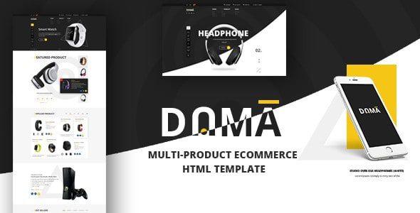 Dama - Магазин, адаптивный Шаблон HTML