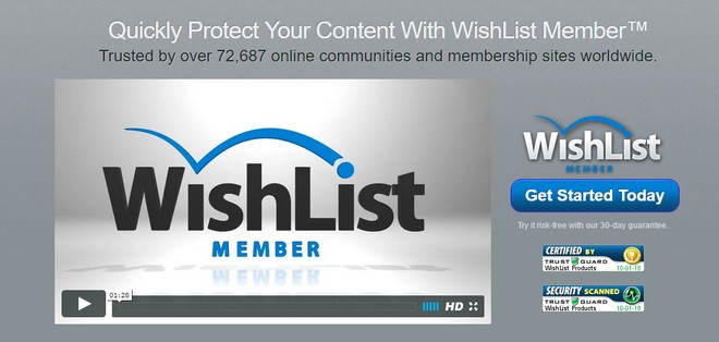 WishList Member™ - плагин доступа к защищённому контенту