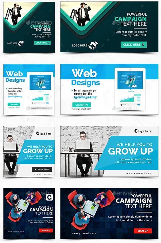 Facebook Лента Новостей, Рекламные Баннеры  — 152 Баннера