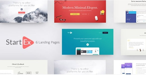 StartEx | Многоцелевой Landing Page