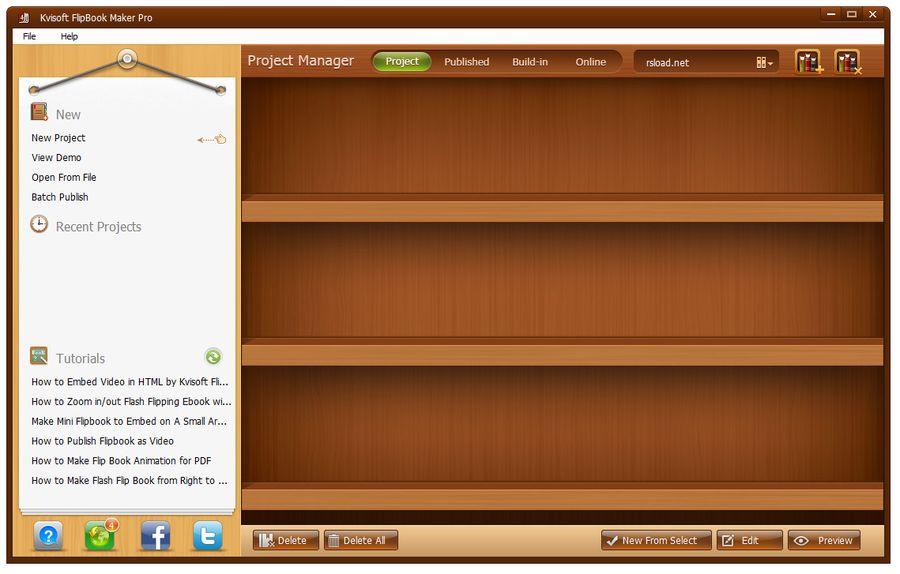 Kvisoft FlipBook Maker Pro 4.3.1 + 4.3.3.0 - программа создания перелистывающейся книги