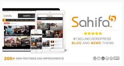 Sahifa — WP Тема Новостей, Журнала, Блога.