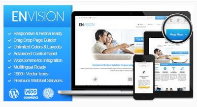 Envision — Отзывчивая Многоцелевая Тема