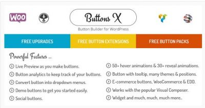 Buttons X – Мощный Разработчик Кнопок для WordPress