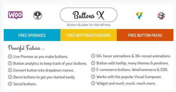 Buttons X - Мощный Разработчик Кнопок для WordPress