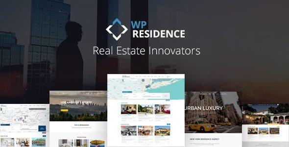 WP Residence – WordPress тема Недвижимости