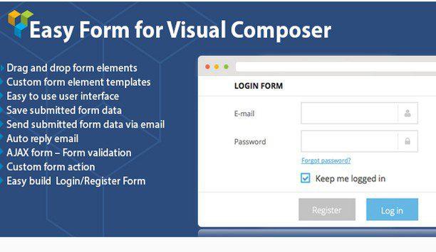 DHVC форма : WordPress форма для визуального композитора