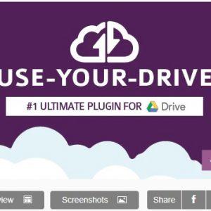 Use-your-Drive   Плагин Google Диска для WordPress