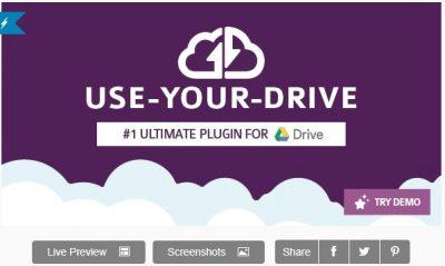 Use-your-Drive | Плагин Google Диска для WordPress