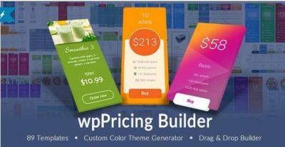 WP Pricing Table Builder — плагин адаптивных таблицы цен