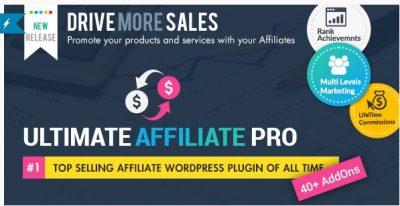 Ultimate Affiliate Pro – партнёрская система на WP