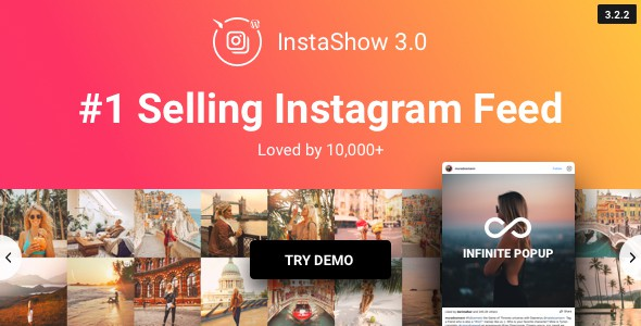 Instagram Feed – WordPress Галерея для Instagram