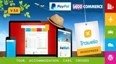 Travelo — Путешествия / Тур / Прокат автомобилей / Круиз Бронирование Тема WordPress