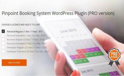 Pinpoint Booking System PRO – плагин брони