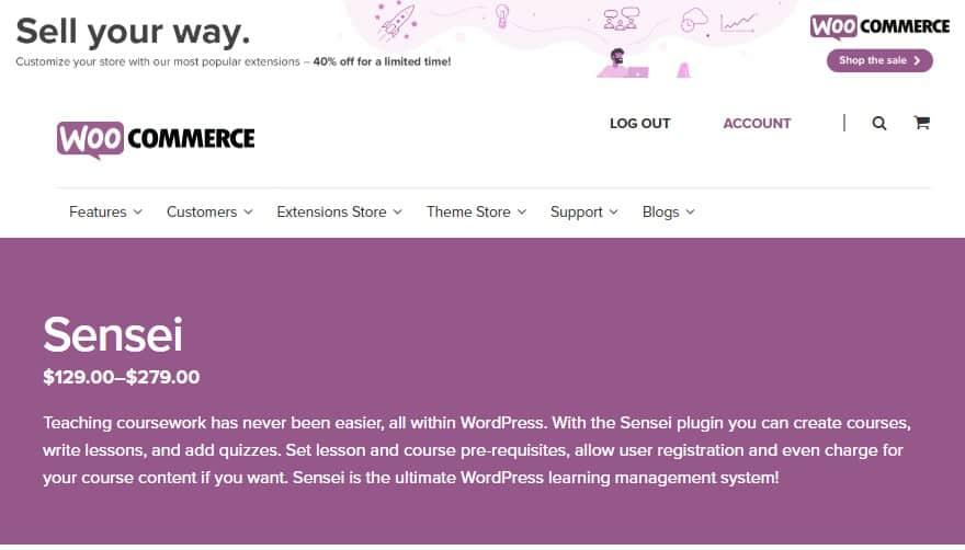 WooCommerce Paid Courses – Плагин Создания Платных уроков и курсов