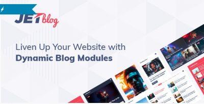 JetBlog — Пакет блогинга для Elementor Редактор страниц
