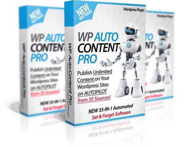 Пак плагинов — WP AutoContent PRO +Auto Traffic & SEO + WP Auto Monetize — Создание контента на автомате из 18 + источников с партнёрскими ссылками и автопостер в 11 соцсетей