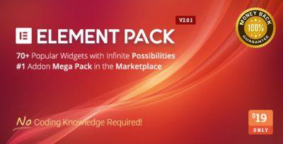 Element Pack — Addon для Elementor
