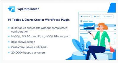 wpDataTables – Менеджер таблиц и диаграмм для WordPress