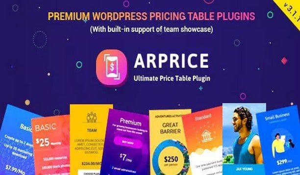 Плагин Таблиц Цен – ARPrice