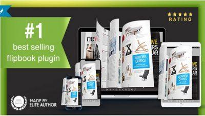 Real3D FlipBook  – плагин создающий книгу с перелистыванием страниц