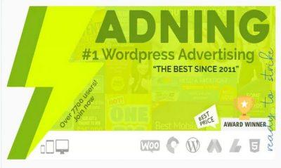 Adning Advertising – профессиональный менеджер Рекламы для WordPress