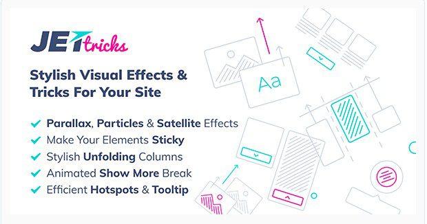 JetTricks – Визуальные эффекты Addon для Elementor