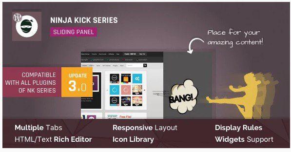 Ninja Kick: Sliding Panel