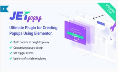 JetPopup — Popup Addon для Elementor