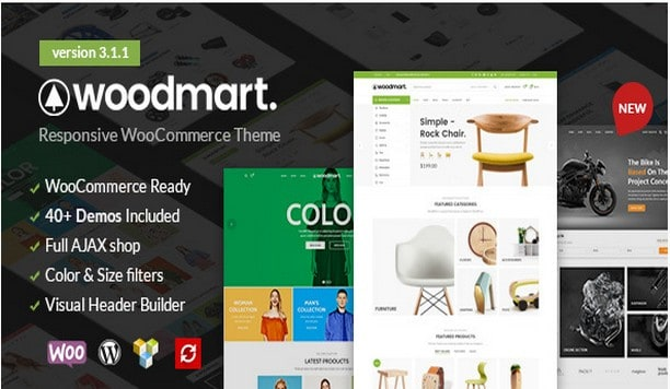 WoodMart - WooCommerce WordPress Тема