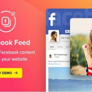 Facebook Feed - Плагин WordPress