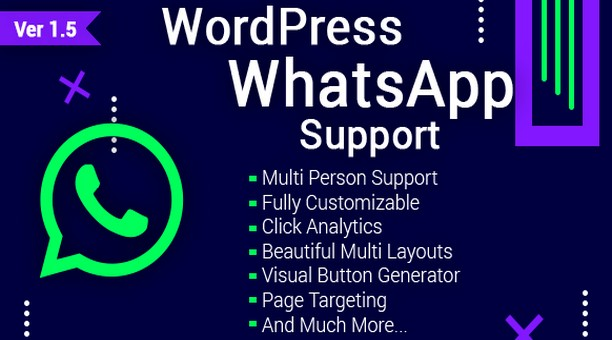 WordPress WhatsApp Служба поддержки