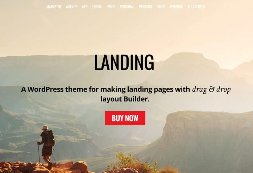 Themify – Landing – WordPress Тема для создания Лендингов