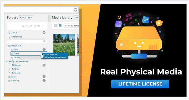 WP Real Physical Media - Физические папки медиатеки и SEO Перезаписи