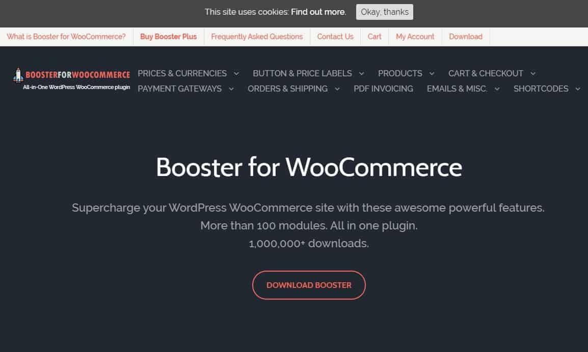 Booster for WooCommerce - Усилитель для WooCommerce