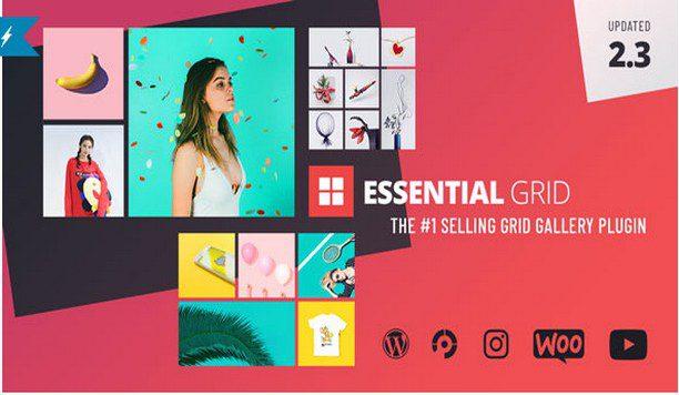 Essential Grid - премиум плагин для WordPress