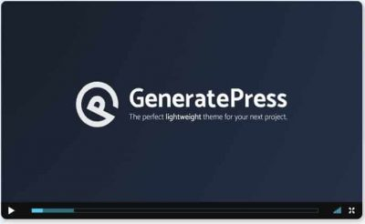 GeneratePress Premium – плагин Премиум дополнение к теме GeneratePress